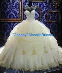 poofy wedding dresses gown wedding dresses chaney silver or gold