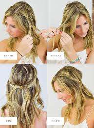 step by step easy updos for thin hair 4 super easy festival hairstyles
