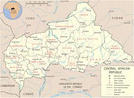 Cameroon Africa Map by Map Of Central African Republic Travel Africa
