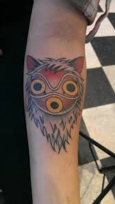 princess mononoke tattoo want tattoos pinterest princess