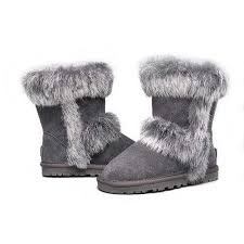 ugg sale dublin ugg fox fur 5281 grey 1 jpg