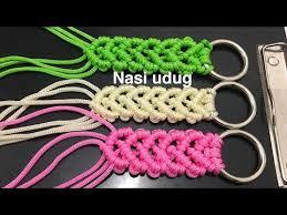 youtube cara membuat tas rajut dari tali kur cara membuat handle tas tali kur motif gelombang by nasiudug
