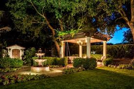 Patio Cafe Lights by Romantic Mediterranean Style Patio Brick Path Sitting Area And