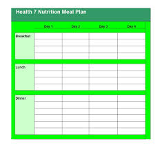thanksgiving day meal planner 40 weekly meal planning templates template lab