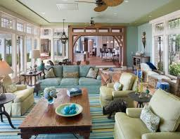 Decor Interior Blue Green House Home Living Room Decor - Color schemes for family room