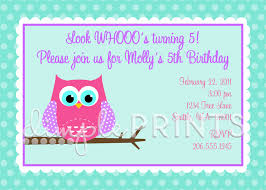 owl printable birthday party invitation dimple prints shop