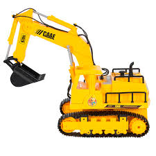 remote control rc excavator tractor construction truck 7 channel