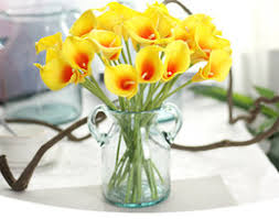 Silk Calla Lilies Silk Calla Lily Bouquets For Weddings Online Silk Calla Lily