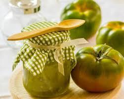 comment cuisiner les tomates vertes recette confiture de tomates vertes