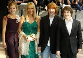 jk rowling and the harry potter cast through the years popsugar