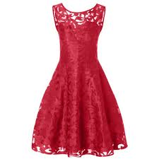 Red Cocktail Dress Plus Size Wholesale Lace Plus Size Holiday Short Cocktail Dress 5xl Bright