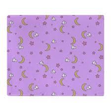 canap molletonn sailor moon couverture couvre lit lune lapins conception doux