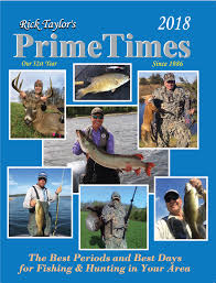 best hunting and fishing times solunar table calendar 2018 primetimes hunting fishing calendar best times solunar table