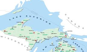 up michigan map about us northwoods airlifeline