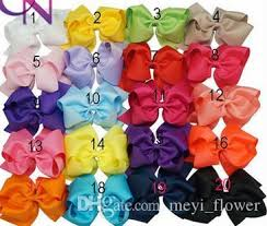wholesale hairbows wholesale fashion 6 barrettes hair bows with for childrens