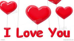 heart shaped balloons heart shaped balloons i you alpha mask hd stock animation
