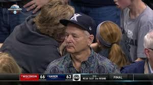 Murray Meme - bill murray s sad reaction to xavier university s loss is now an