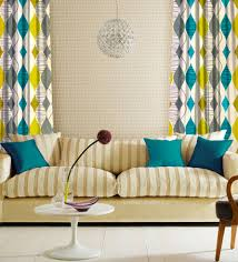 Teal Curtains Yellow And Grey Curtains Made To Measure Curtains Prestigious