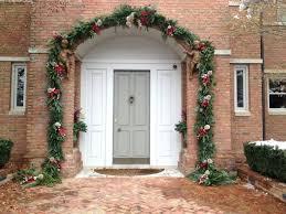 front doors front doors beautiful garland around front door how