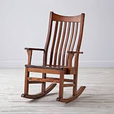 beautiful wood rocking chair for mid century modern chair with