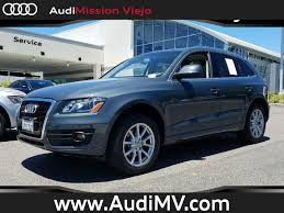 Audi Q5 8 Speed Tiptronic - featured vehicles mission viejo audi specials audi orange