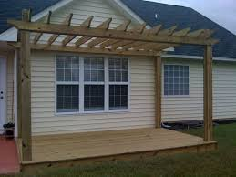 Deck With Pergola by 18 Best Deck Shade Images On Pinterest Deck Shade Backyard