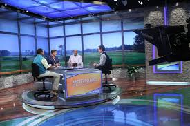 News Studio Desk by Golf Channel U0027s Morning Drive Heads To The Clubhouse With New