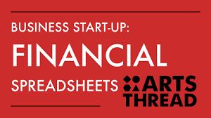 Financial Spreadsheet Arts Thread Business Start Up Financial Spreadsheets