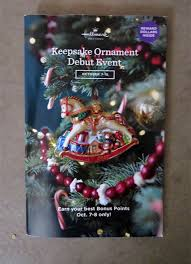 2017 hallmark keepsake ornament debut event wish list the