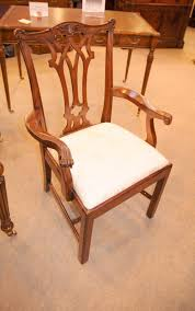 Chippendale Dining Room Chairs Stunning Set Of 8 Chippendale Style Dining Chairs In Mahogany