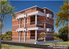 simple and elegant looking flat roof home kerala home simple