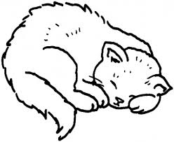 Best Sleep Cat Coloring Pages Free 942 Printable Coloringace Com Cat Coloring Pages