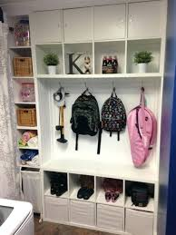 mudroom organizer entryway organizer ikea 2 shelving units from are perfect to
