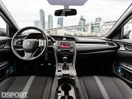 honda civic 2017 first drive 2017 honda civic hatchback sport dsport magazine