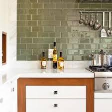 green subway tile kitchen backsplash green subway tile backsplash in white kitchen eco 62