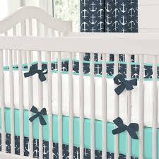 Mini Crib Bedding For Boy by Navy Crib Bumper Pads Best Baby Crib Inspiration