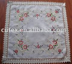 embroidery table cloth embroidered tablecloths kits oratoria co