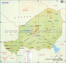 Map Of Africa With Capitals by Niger Map Map Of Niger