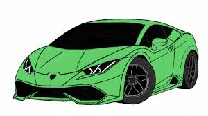 how to draw lamborghini huracan car toons by drawingpat youtube