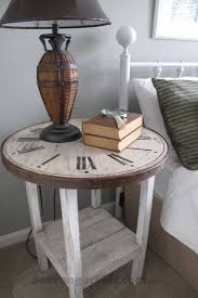 best 20 clock table ideas on pinterest small round side table