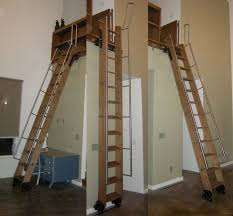 phill realistic idea of a loft ladder tiny house ladders
