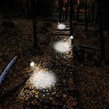 china waterproof 4 led 200 lumens solar wall lights in ground