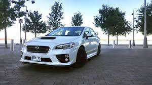 subaru wrx all black 2016 subaru wrx sti test drive review