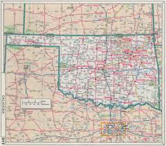 Map Oklahoma Road Map Of Oklahoma My Blog