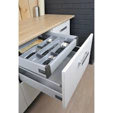 tiroir pour meuble de cuisine tiroir à l anglaise pour casserolier pour meuble l 60 cm delinia