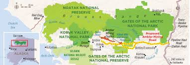 Arctic Map Protect Gates Of The Arctic National Park U0026 Preserve National
