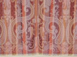 paisley window treatments beautiful decorative indian sari