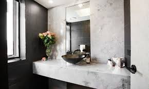 powder room feature wall brucall com