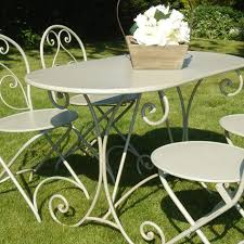 Bliss Patio Furniture French Style Garden Furniture Table Bliss And Bloom Ltd