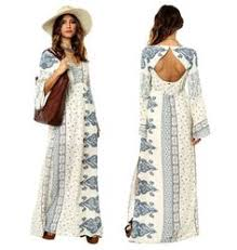 stevie may miss hart longsleeve maxi dress in white what to wear